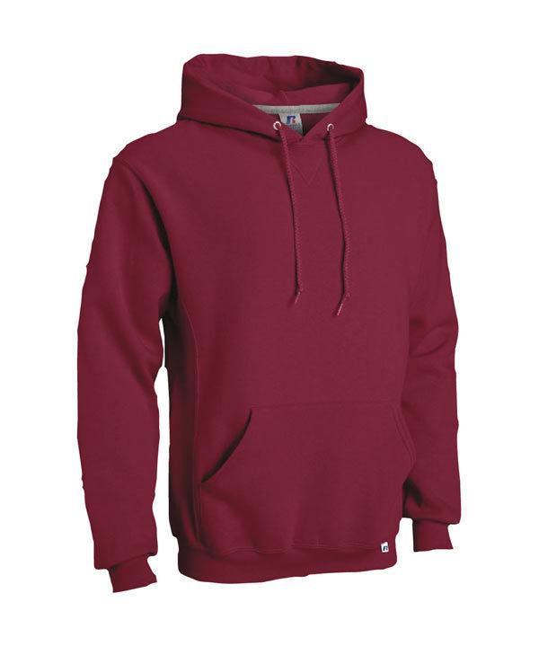 Russell—Dri-Power-Fleece-Hooded-Sweat-Top-695M—Cardinal